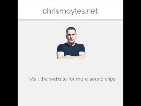 Elijah Wood on Radio X with Chris Moyles  08 Oct 2015