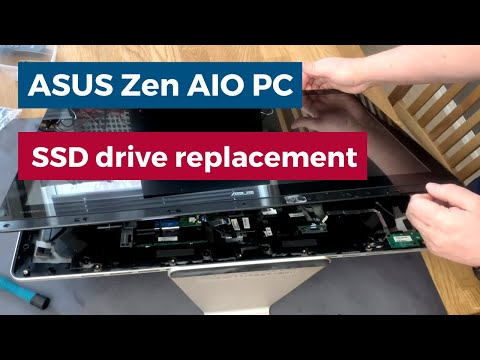 ASUS Zen AIO PC SSD Drive Replacement - Z240ic-H110