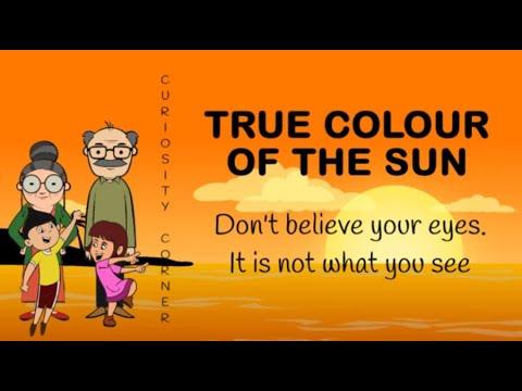 What Colour is the Sun? : Curiosity Corner