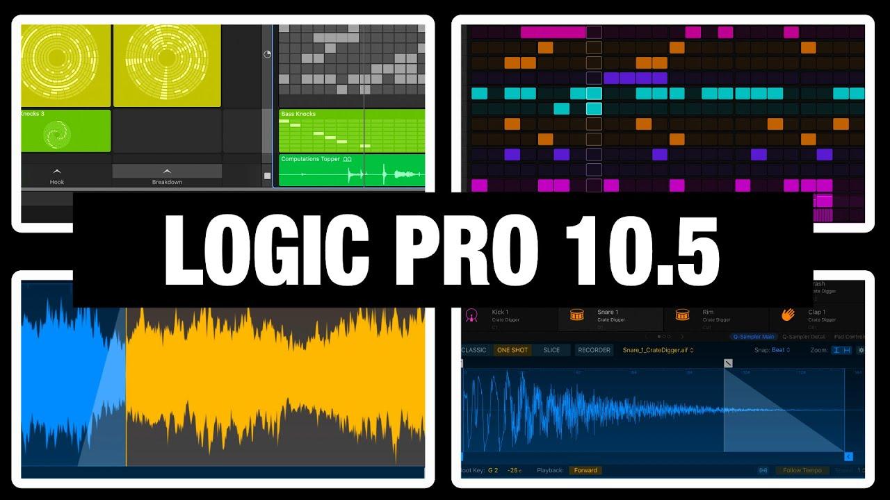 7 Best News In Logic Pro 10 5 Youtube