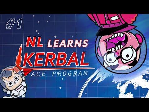 Northernlion Learns to Orbit - Kerbal Space Program