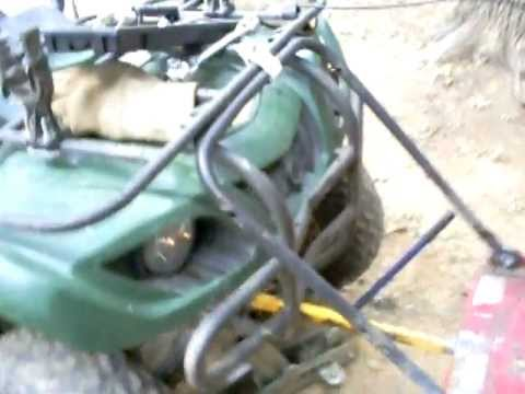 My Homemade Atv Bush Hog Part 2 Youtube