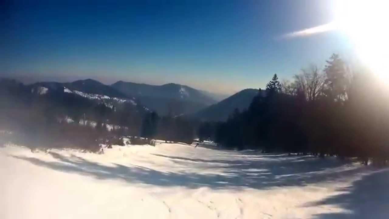 Unterberg Pernitz Piste Waldabfahrt Youtube