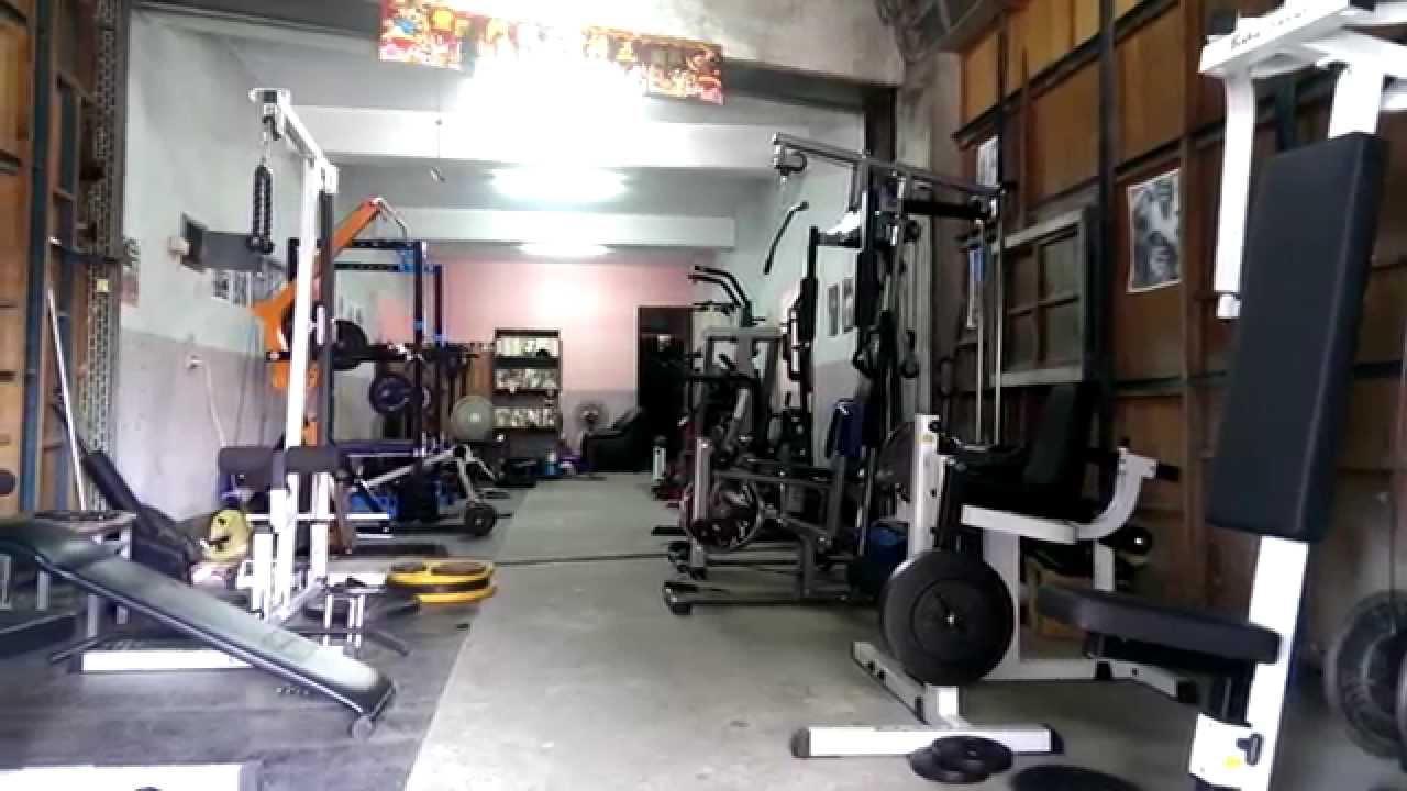 魔鬼阿諾 打造私人健身房 home gym youtube