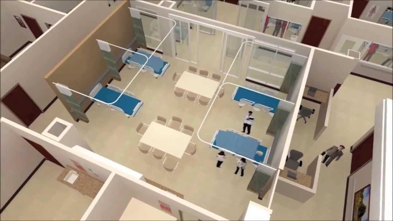 Simulation center at elmhurst memorial hospital sps for Interior design simulator online free