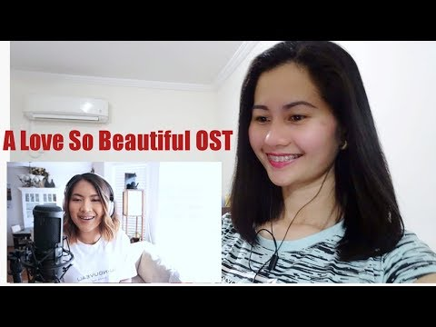I Like You So Much, You'll Know It - A Love So Beautiful OST  by: Ysabelle Cuevas | Reaction Video