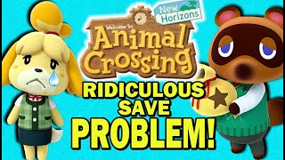 The Animal Crossing New Horizons Save Situation is Confusing and Ridiculous!