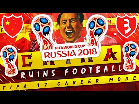 CHINA'S WORLD CUP FINALE! 🌏🏆 FIFA 17 CHINA🇨🇳 CAREER MODE EP 3