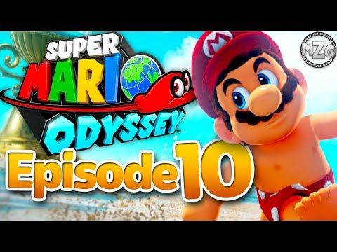 Mario is on Vacation! Seaside Kingdom! - Super Mario Odyssey - Episode 10