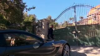 Dr. Dre gives a tour of his new home and recording studio