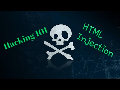 Hacking 101 - HTML Injection - Web Security Tutorial