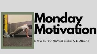 Vlogmas Day 9 - Advise to NEVER Miss a Monday, Nutrition & W…