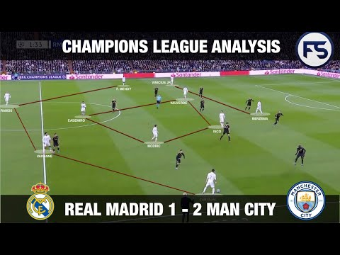 Pep Guardiola's Man City With A Historic Win Against Real Madrid In The Bernabeu. Tactical Analysis