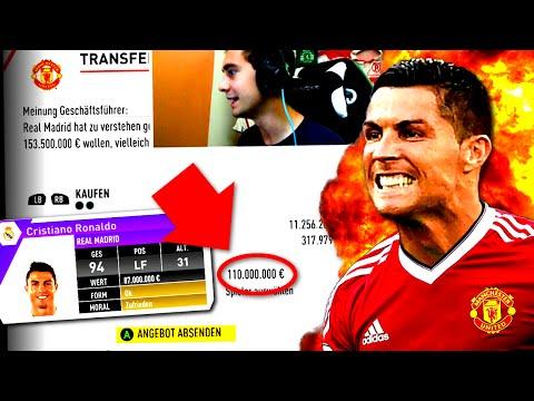 FIFA 17 : OMFG ES GEHT LOS !! - CRISTIANO RONALDO FÜR 110 MILLIONEN ?! - KARRIERE mit MANUNITED #1
