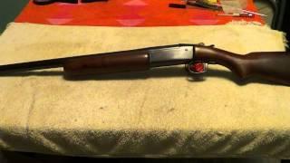 Winchester model 37 shotgun