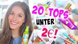 20 Drogerie MUST HAVES ♡ für UNTER 2€!! |BarbieLovesLipsticks