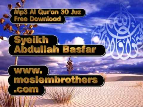 Mp3 Quran 30 Juz - Syeikh Abdullah Basfar