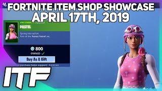 Fortnite Item Shop *NEW* PASTEL SKIN SET! [April 17th, 2019] (Fortnite Battle Royale)