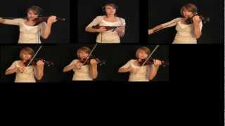 Requiem for a Dream Theme (Lux Aeterna) on Violins: Taylor Davis