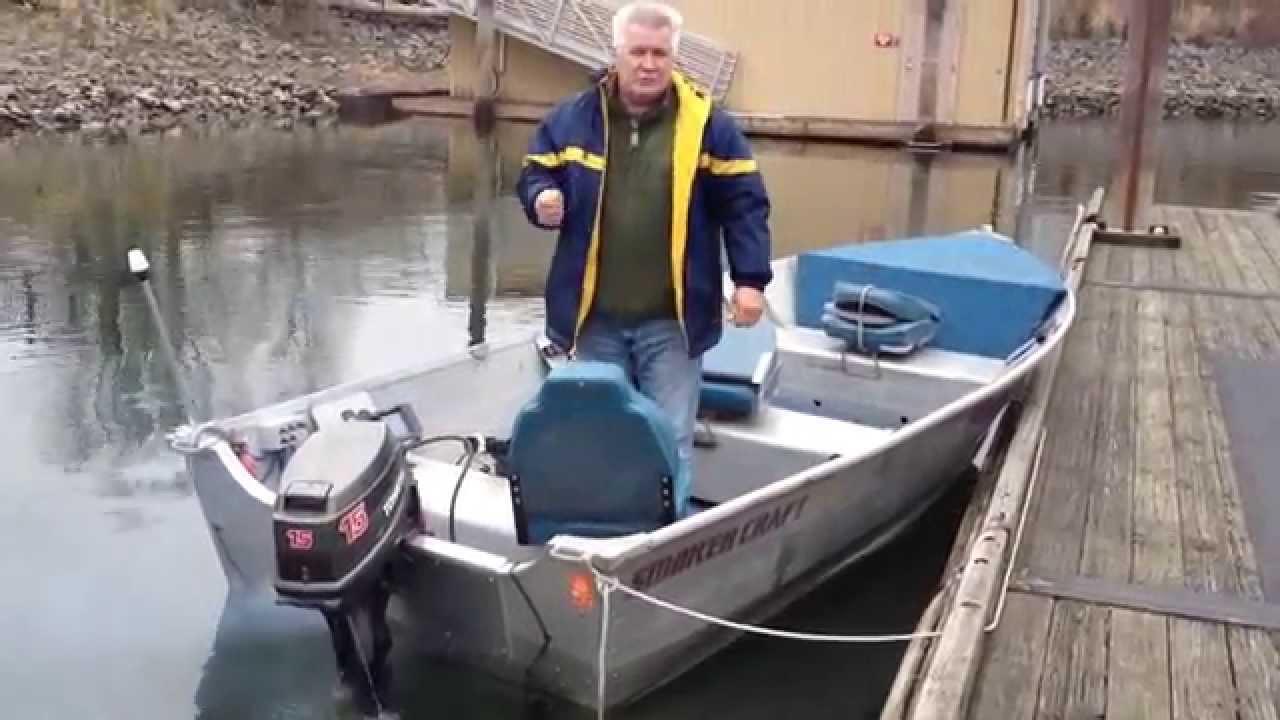 Smokercraft alaskan 15 ft youtube for Smoker craft alaskan 15
