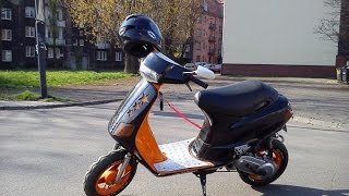 Piaggio Zip I - Project Black-Orange - 2012-2014 [HD]