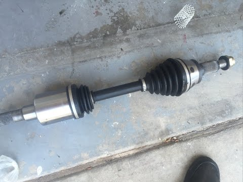 Replacing CV Axle shaft on Hummer H3 and H3T