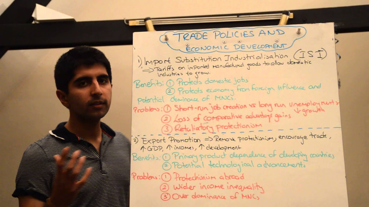 import substitution and export promotion policies