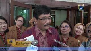 22 Sept 2016 Wagub Djarot S. Hidayat wawancara informal dengan wartawan