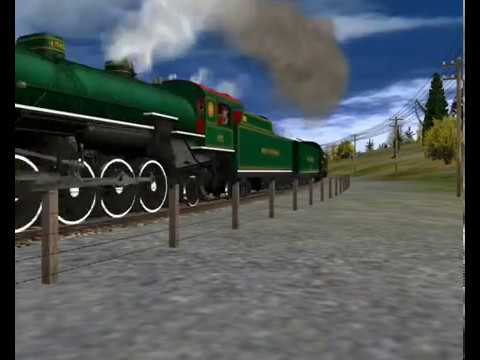 Trainz Reviews: K&L Trainz - Southern Railway #4501