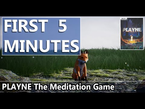 FIRST LOOK | PLAYNE The Meditation Game | HD GAMEPLAY |