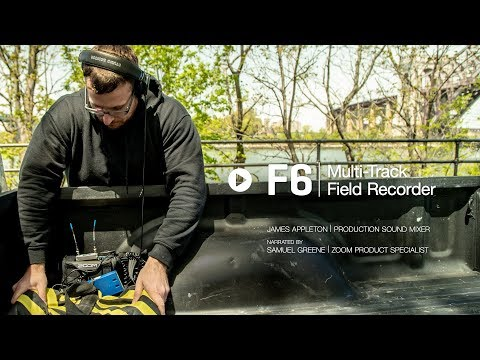 The Zoom F6 Field Recorder