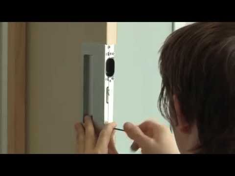 CL400 Magnetic Passage Pocket Door Hardware Installation