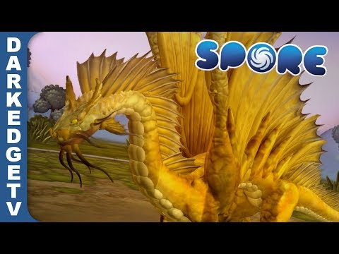 Gold Dragon, Dungeons & Dragons | Made In Spore!