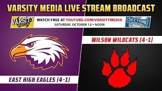 Section V Football: Wilson vs. East High (10/12/2019)
