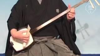 日本 三味線(長唄) 奏法『スクイハジキ』|Playing technique'sukuihaj...
