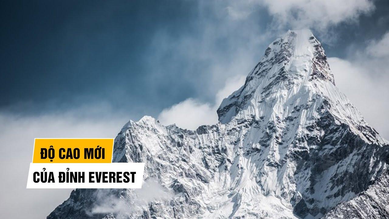 Chấm dứt tranh cãi độ cao 'nóc nhà thế giới' Everest