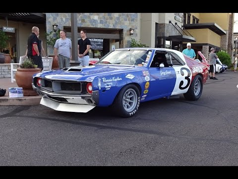 1969 American Motors AMC Javelin Trans Am Racecar # 3 & Start Up on My Car Story with Lou Costabile