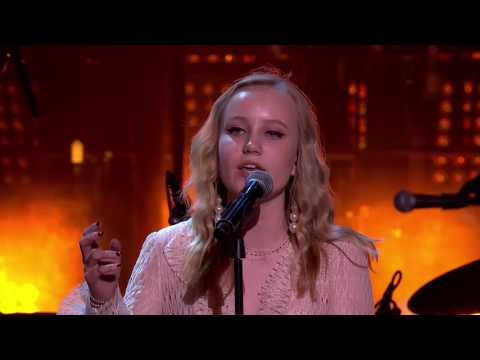 Surprise performance at the Polar Music Prize by Max Martin's friends and daughter