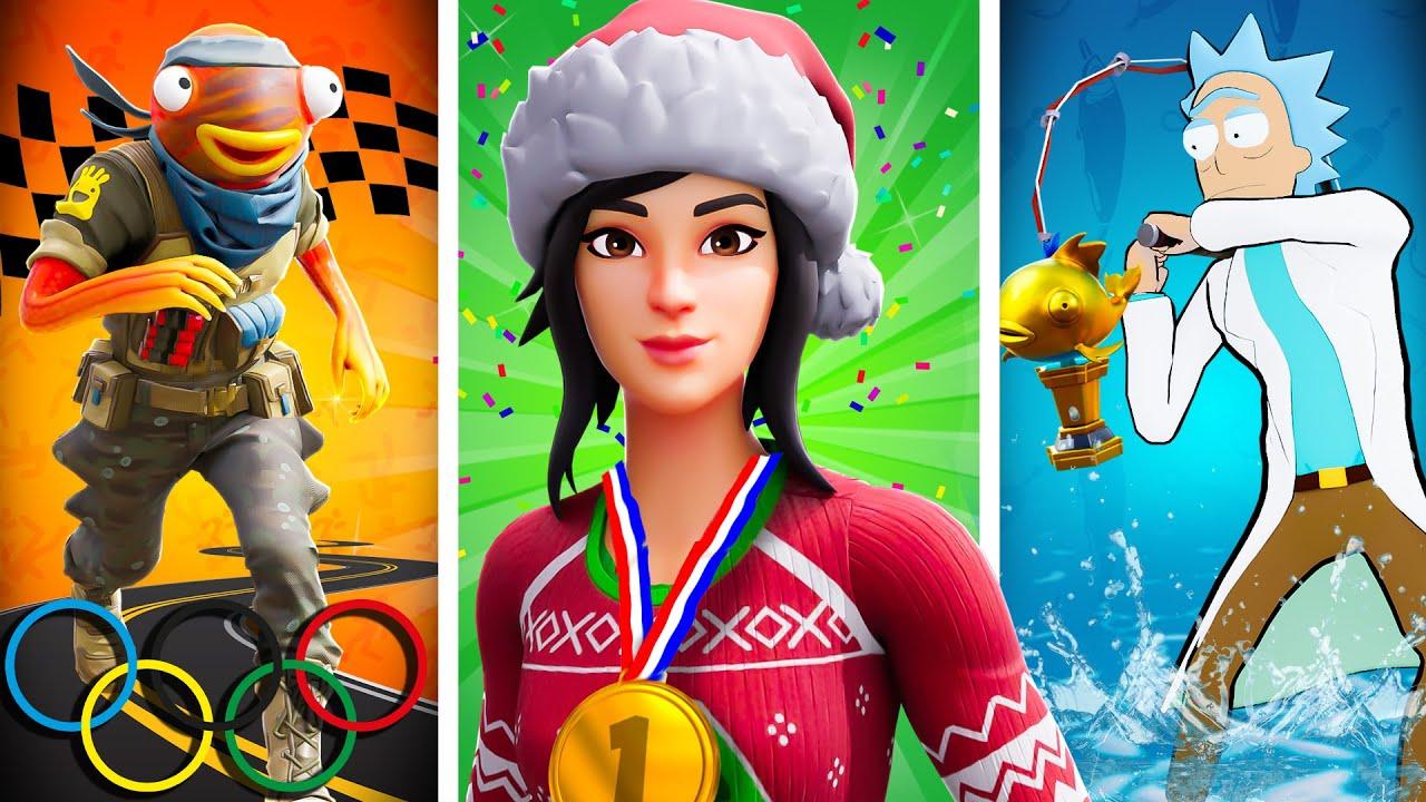 The Fortnite OLYMPICS...