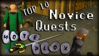 Top 10 Best (Novice) Oldschool RuneScape Quests