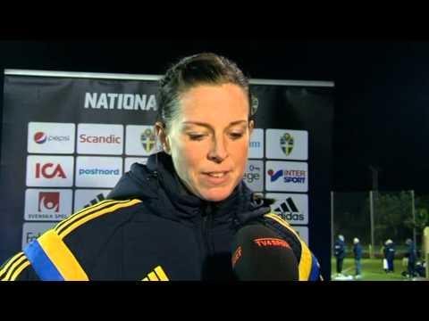 Överlycklig Lotta Schelin: Det här var bra för gruppen - TV4 Sport
