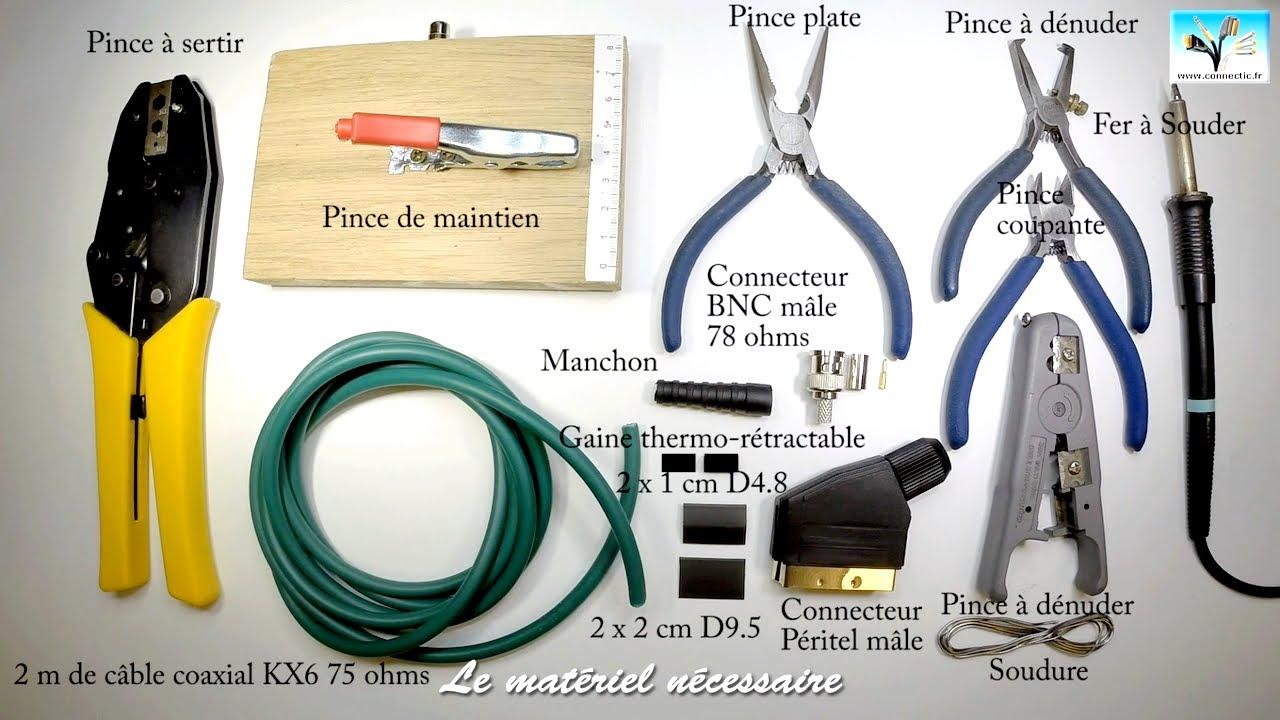 Comment Fabriquer Monter Un C 226 Ble Vid 233 O P 233 Ritel Vers Bnc