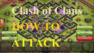 How To Attack Clash Of Clans || Bollywood Song Play Background Full Masti With Attack