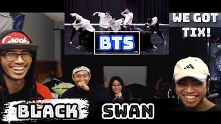 Black Swan Dance Practice Reaction - BTS (방탄소년단) Choreography - VK and Friends React