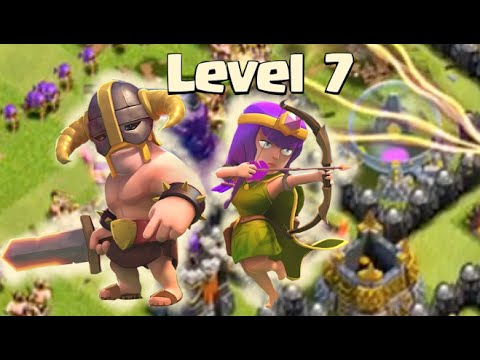Clash of Clans Attacks - BARCH Update With Level 7 Archers and Barbarians!