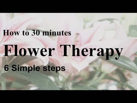 FREE simple Flower therapy 30 minutes relaxing images,healing, refreshing and calming music