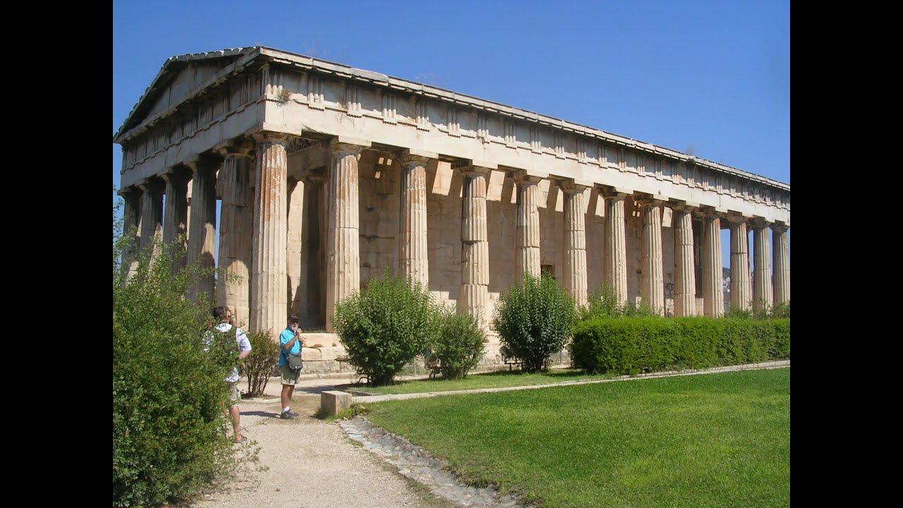 Temple of Hephaestus, Athens - YouTube