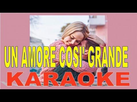 Karaoke - Mario Del Monaco - Un Amore Così Grande