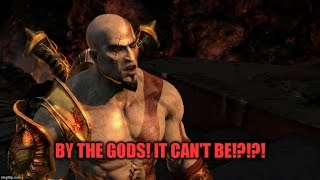 God of War III Remastered Invisible Ground DLC @SonySantaMonica