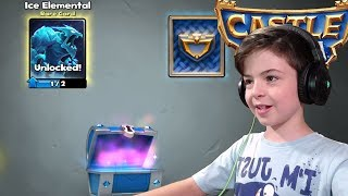 ICE ELEMENTAL IN SILVER CHEST - Castle Crush